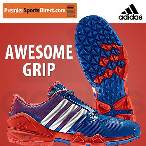 Adidas Adipower Hockey Shoe: Designed & developed with the world's top players. Superior grip, speed & power on turf. #Hockey Direct.