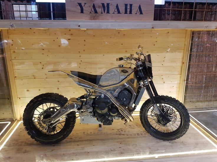 Yamaha XSR 900 By OMT Garage