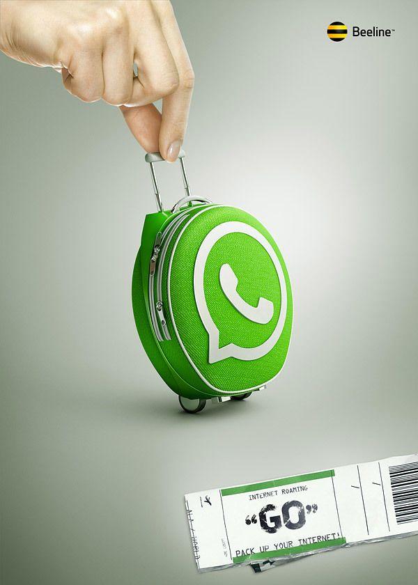 Internet Roaming by Peter Storozhenko, via Behance #creative #inspiraiton #ad #advert #advertising #pikock www.pikock.com