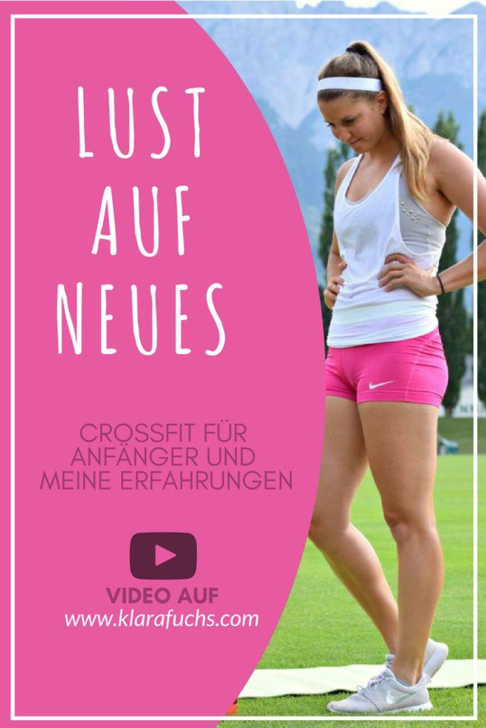 VIDEO: CrossFit für Anfänger - meine Erfahrung - Laufen, Gewichte heben, Muskeltraining, Ausdauertraining.  Bei Crossfit ist alles in Sport und Fitness dabei. Stark und fit werden. KlaraFuchs.com