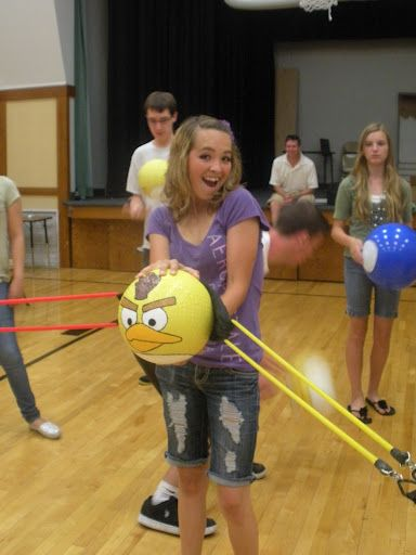 Angry Birds Live - Combined YM/YW Activity.  Looks like so much fun!!