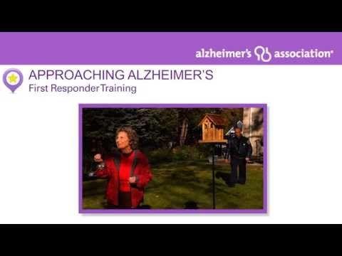 First Responder Training   Caregiver Center   Alzheimer's Association