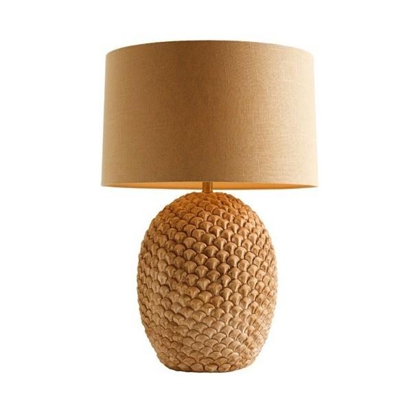 Arturo Natural Wash Porcelain Lamp ($673) ❤ liked on Polyvore