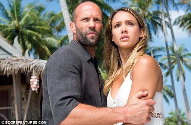 Coming soon: Jessica has two upcoming movies in the works - including crime thriller Mechanic: Resurrection, which also stars Jason Statham and Tommy Lee Jones and is due for release on August 26