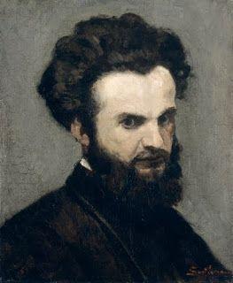 """Jean-Baptiste A. Guillaumin, Self-Portrait, (1872-74). Cleveland Museum of Art. """"Guillaumin es uno de los impresionistas que quedó más a la zaga, desde el punto de vista de los 'precios'. Los lienzos de Sisley han subido después de su muerte, pero los de Guillaumin -y es la suerte de tantos artistas- aun hoy se malvenden (...) Al principio se vio obligado a aceptar un empleo administrativo para poder vivir. Pero le dedicaba a la pintura todo el tiempo libre que le quedaba después del…"""