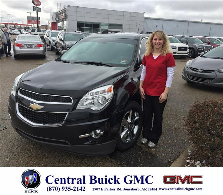Justin Duckert at Central Buick GMC worked with me and my co-signer to make this purchase easy. I wanted the terrain but purchased the 2012 Chevy Equinox instead. I loved both, and I am happy with my purchase either way. Justin explained everything in detail for me and I would like to continue to do business with him in the future. - Michaela Pogue, Tuesday, March 10, 2015  http://www.centralbuickgmc.com/?utm_source=Flickr&utm_medium=DMaxx_Photo&utm_campaign=DeliveryMaxx