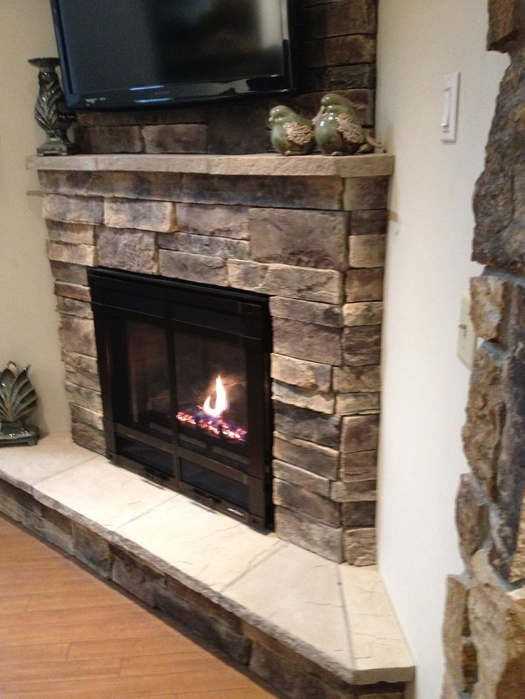 115 best images about corner fireplace on pinterest Corner rock fireplace designs