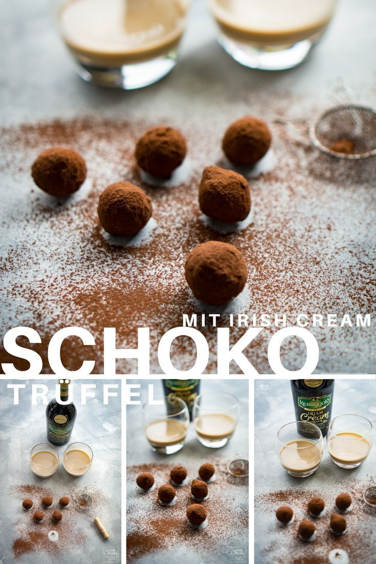 Schokoladentrüffel mit Irish Cream | Recipe | Christmas | Pinterest ...