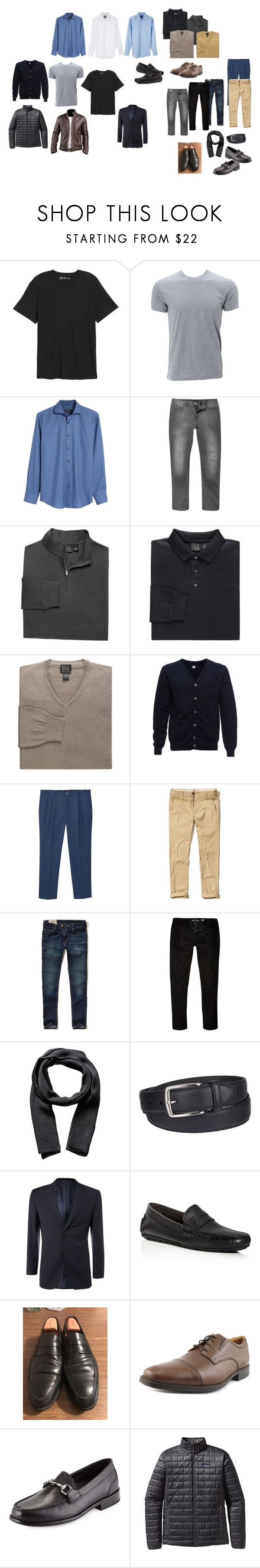 """#2"" by chumiller22 on Polyvore featuring Public Opinion, Simplex Apparel, Bugatchi, Altalana, MANGO MAN, Hollister Co., River Island, Portolano, Columbia and To Boot New York"