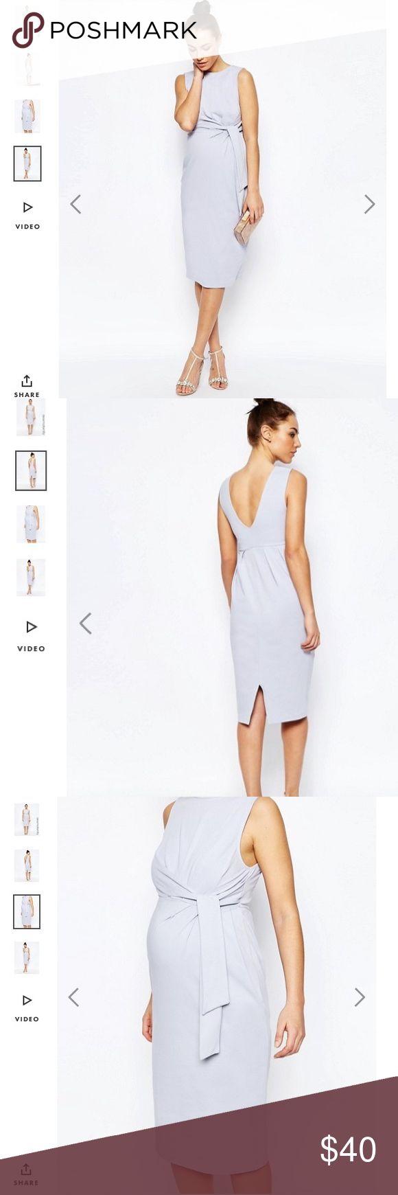 Sale NWT Asos maternity lilac color dress 6 Beautiful Asos maternity dress size 6. Super comfy . ASOS Maternity Dresses