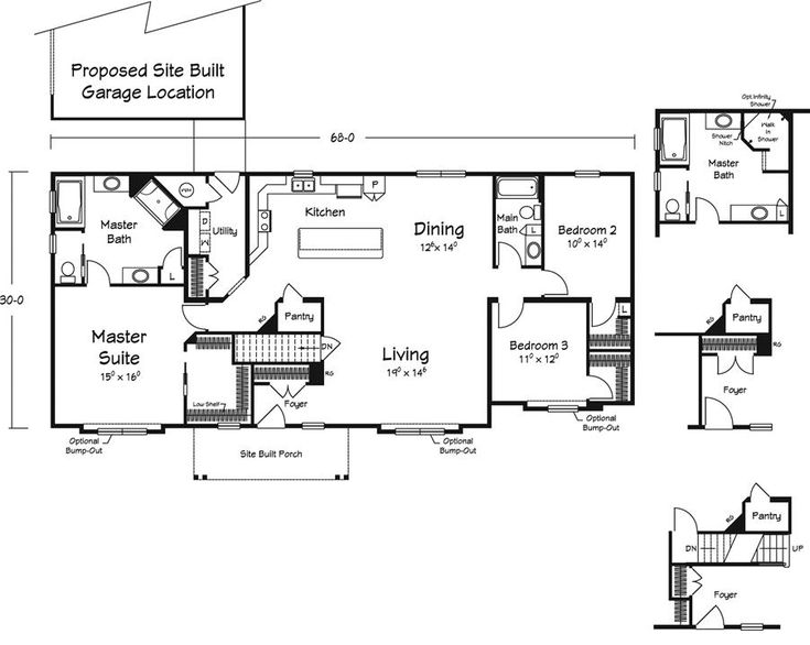 Floor Plans :: Michigan Modular Home Builder - American Living Inc.