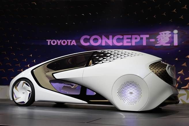 TOYOTA Concept-愛i外型光澤亮麗
