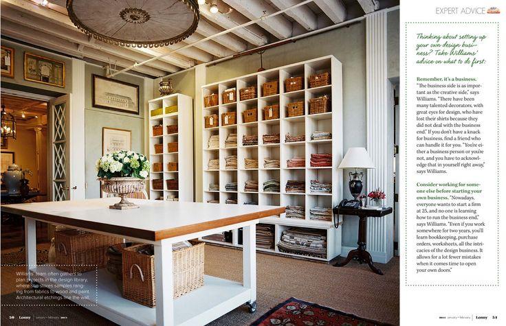 Bunny Williams Office- Lonny