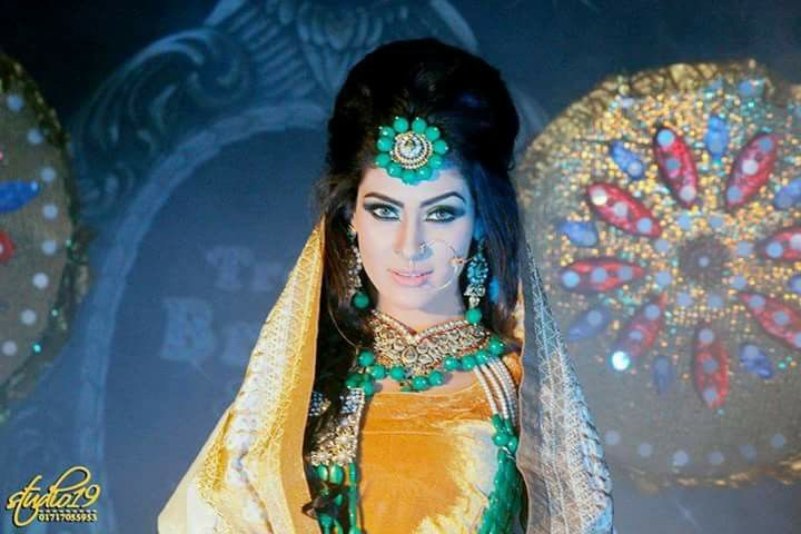 Bangladeshi model#holud ceremony look #zahid khan makeover