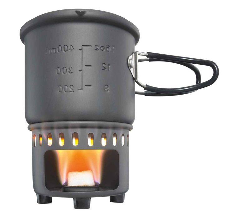 Set de cuisson 585mL Esbit - Popote, Réchaud - Equipement de survie http://www.equipement-de-survie.fr/produit/alimentation/rechaud/set-de-cuisson-585-ml-esbit