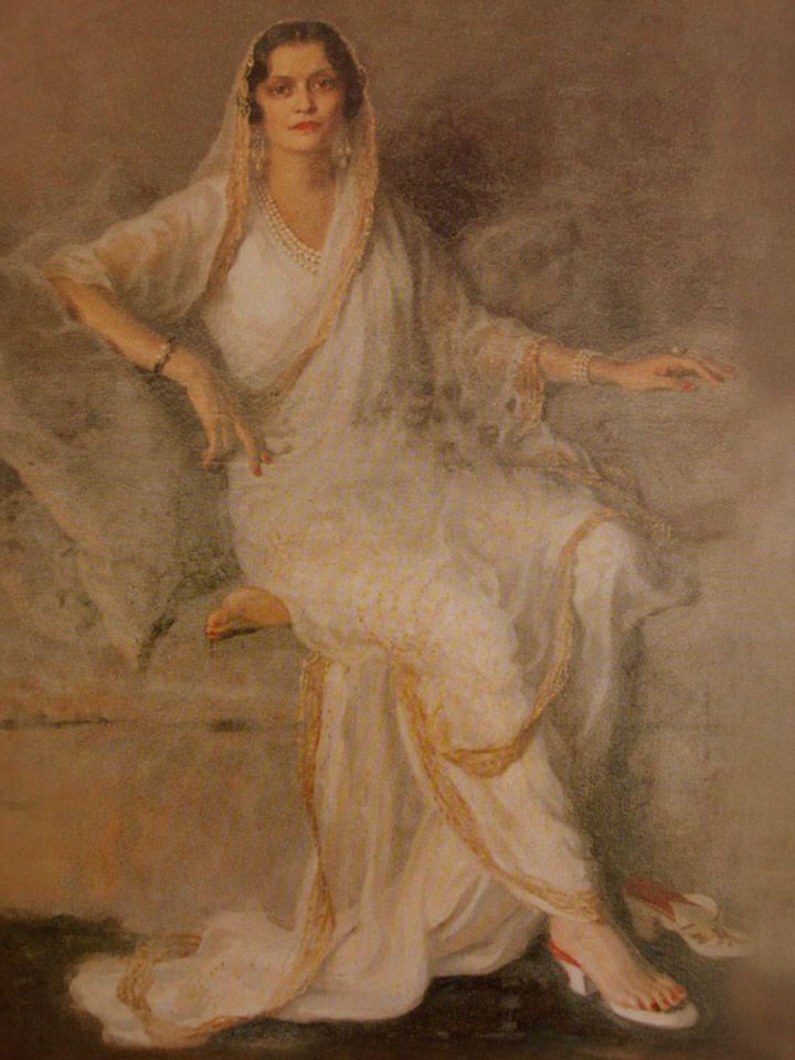 Maharani Brinda Devi of Kapurthala