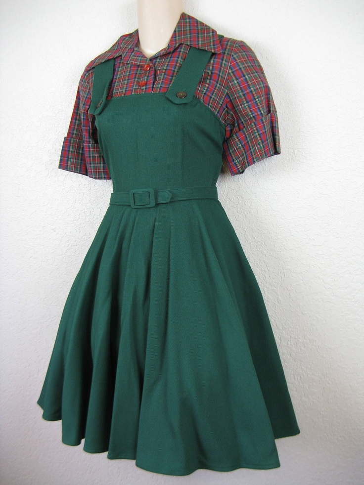Old Pinafore from dollroom on Ruby Lane