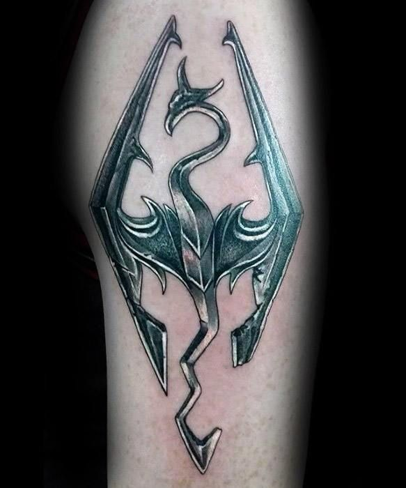 best 25 skyrim tattoo ideas on pinterest skyrim bethesda tattoo and skyrim thieves guild. Black Bedroom Furniture Sets. Home Design Ideas