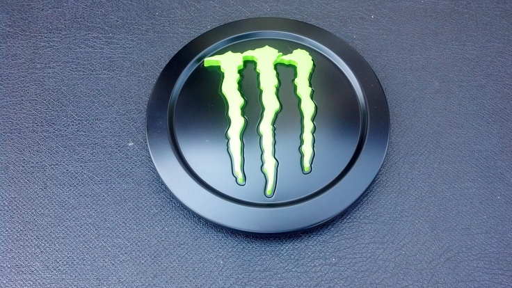 Monster Energy Green Claw Replacement Center Caps For Tis