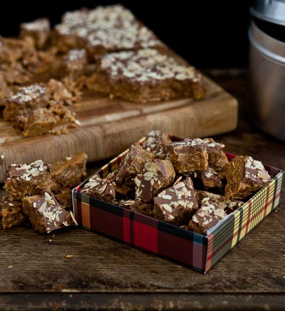 Almond butter toffee is, without question, the George Clooney of toffees.