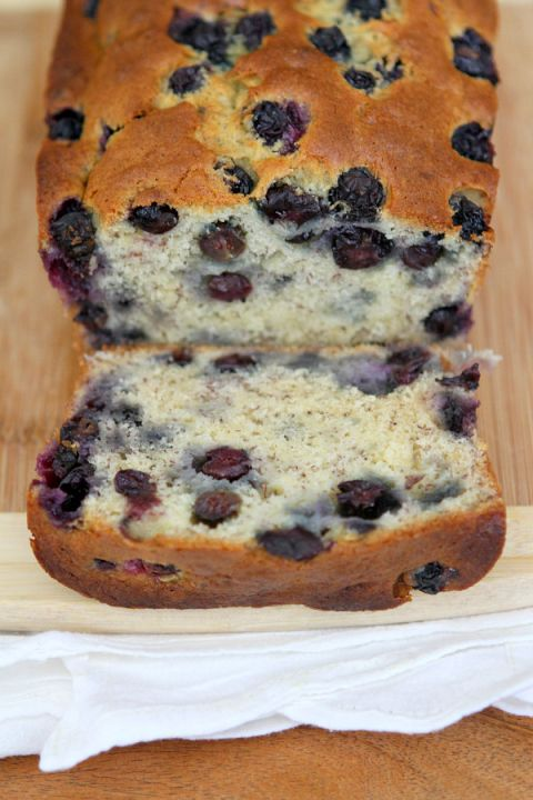 """Banana Blueberry Bread Recipe  This simple recipe has gotta work well in my Waffle Iron~To """"Grab'n Go"""" right out the Door!"""