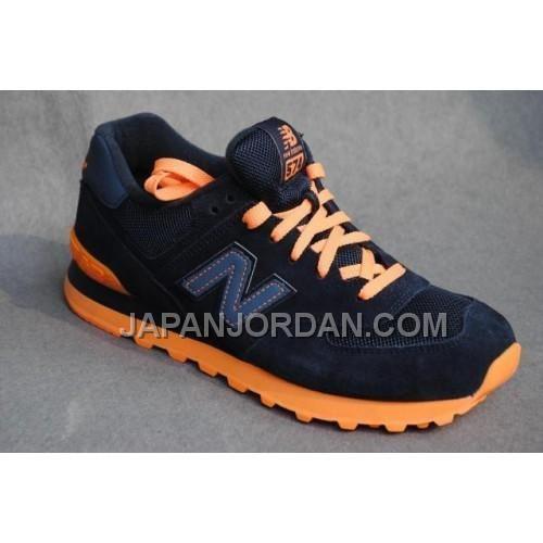 http://www.japanjordan.com/new-balance-574-womens-blue-orange-shoes.html 送料無料 NEW BALANCE 574 WOMENS 青 オレンジ SHOES Only ¥7,598 , Free Shipping!