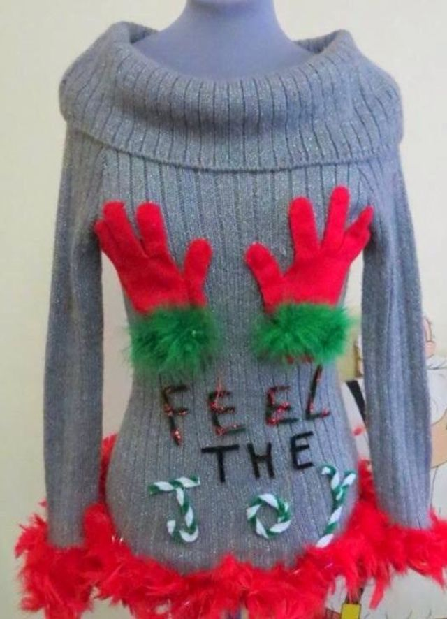 19 Most Inappropriate Christmas Items You've Ever Seen made by tackyuglychristmassweaters.com, get yours there!