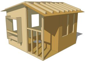 Tree-house Ideas - This is a great site that provides easy to read plans for beginners.  I may end up using one of their designs for the kids.