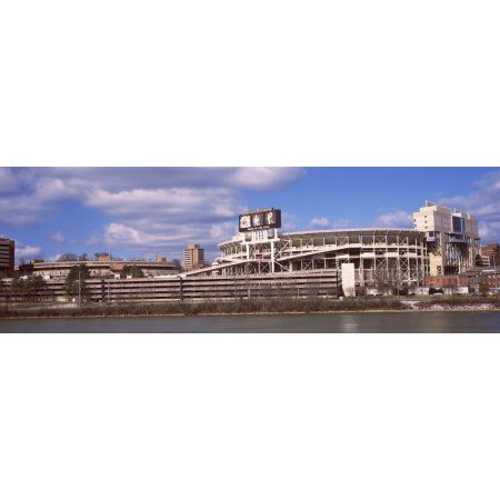 Neyland Stadium in Knoxville Tennessee USA Canvas Art - Panoramic Images (36 x 12)