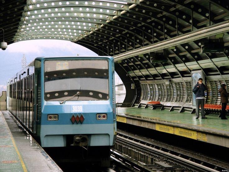 Metro de Santiago Chile