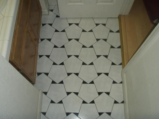 Bathroom Tiles Design Pattern 36 best pentagon tiles images on pinterest | tiles, tiling and mosaics