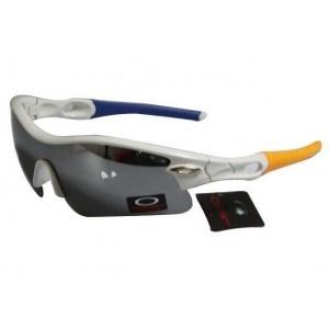 ef5676ee8f Fake Oakley Radar White Frame Blue Lens