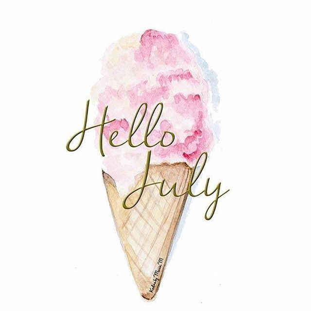 Hello July We Are Looking Forward To 31 Days Of Pretty Weather And Fabulous Protectivestyles Braidstyle Twist Wigs Hen Hello July Hello Summer Hello June Cute hello july wallpapers