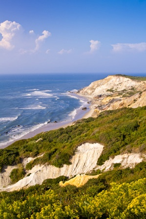 Martha's Vineyard, Massachusetts. Quintessential New England with breathtaking views, fresh seafood, and rich history.