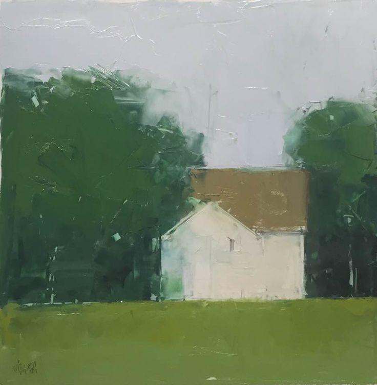 Mary Jo O'Gara, oil on Yupo