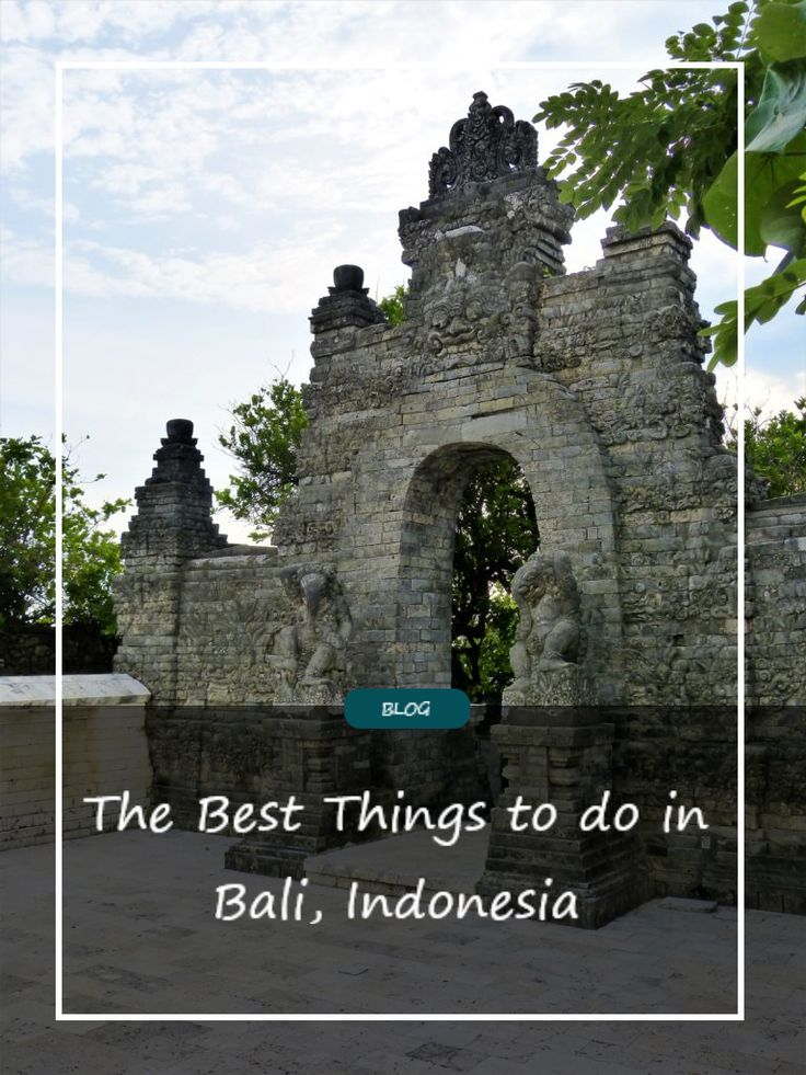 Travel Guide for Bali