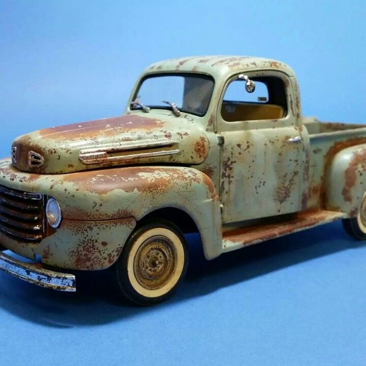 Nice rust and patina on a 50 Ford F1