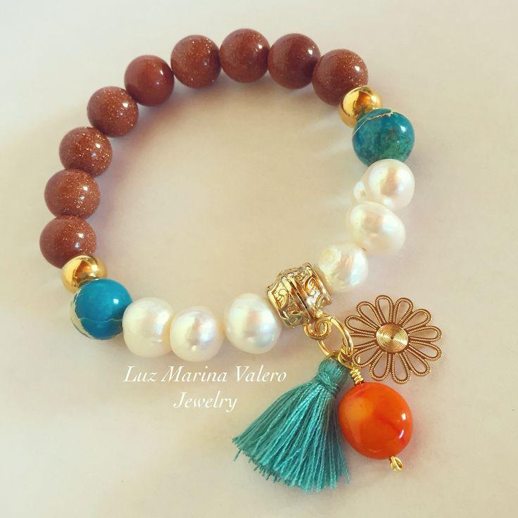 Pulsera by Luz Marina Valero Jewelry                                                                                                                                                                                 Mais