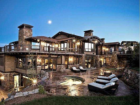 21.9 million dollar home in Park City, Utah
