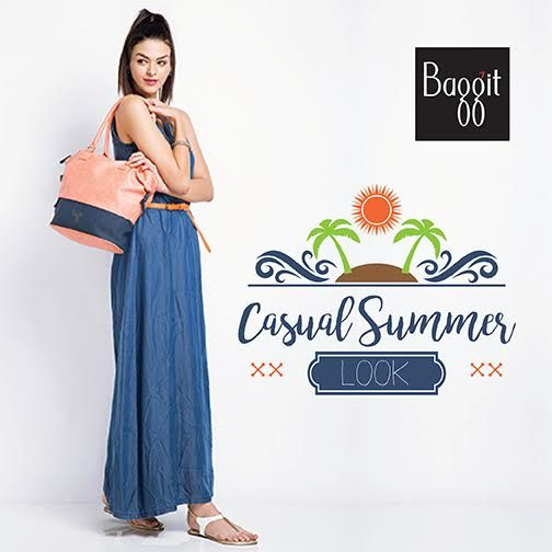 Beat the heat this summer with mellow, pastel tone handbags to sweeten up your casual dresses and exude a relaxed vibe. Carry off this look on the beach or a Sunday brunch. Get your pastel handbag at any Exclusive Baggit Outlet or baggit.com. #GetTheLook