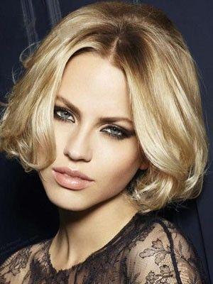 Perruque cheveux naturels lace front mi-longue magnfique - Photo 1