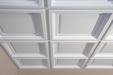 Drop Down Ceiling Tray Style Basement Pinterest