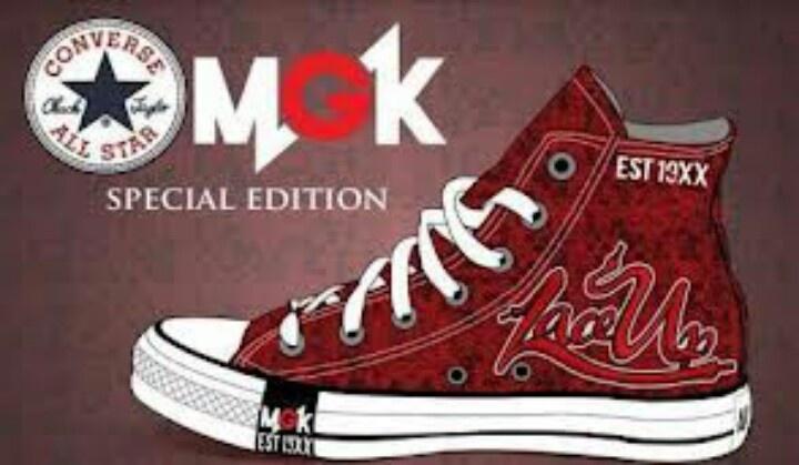 Mgk Converse Shoes