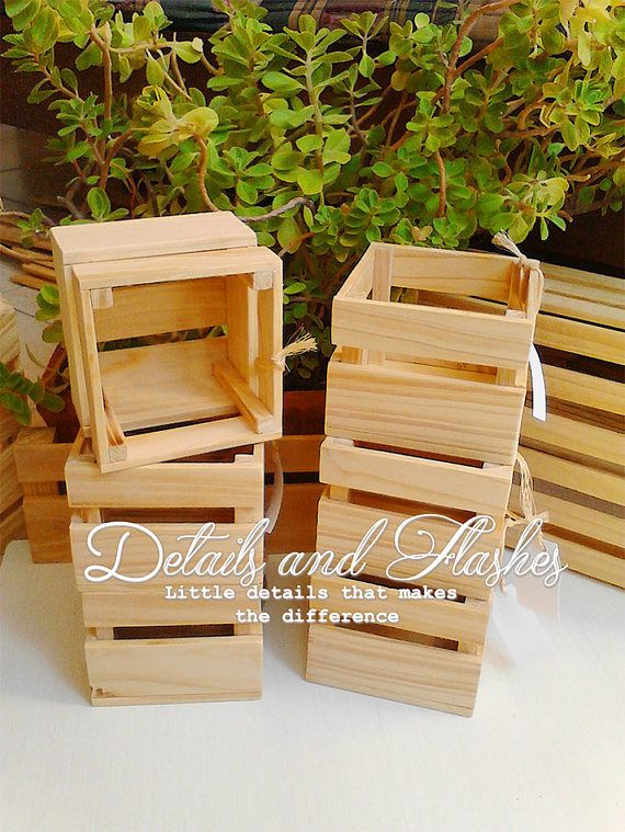 Casse di legno per centrotavola - cassa di legno - legno - accessori legno bomboniera scatole di legno - legno casella per vendita - scatole di legno decorativi - matrimonio e bambino doccia, festa allaperto e più... ----I nostri prodotti sono realizzati su ordinazione completamente fatto a mano --- Si prega di eseguire gli ordini con almeno un mese e mezzo o due mesi di anticipo. ➡️ facciamo altre casse misure e stili personalizzati, contattateci direttamente: http://etsy.me&#...