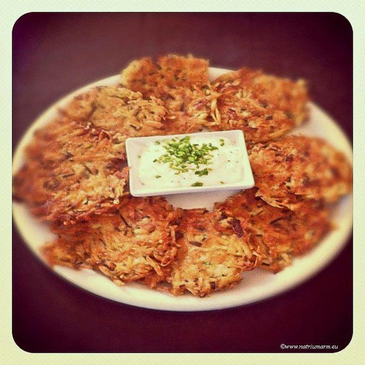 Aranka's Kookblog | Latkes: Aardappel-Pastinaakkoekjes met Bieslook | Aranka's Kookblog
