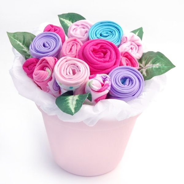 Best 13 baby showergift ideas images on pinterest baby showers baby blossoms clothing bouquet gift idea this ultra unique baby blossom looks like a bouquet negle Gallery