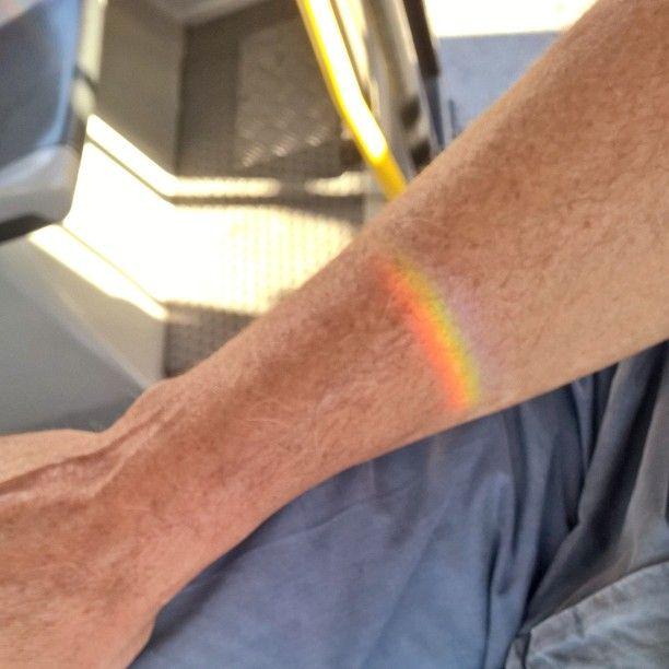 #arcobaleno #rainbow  on the #arm sul #braccio
