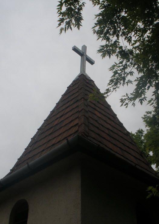 Kisváci kápolna (Rákóczi tér) /  Regőczi Kápolna tetőkeresztje