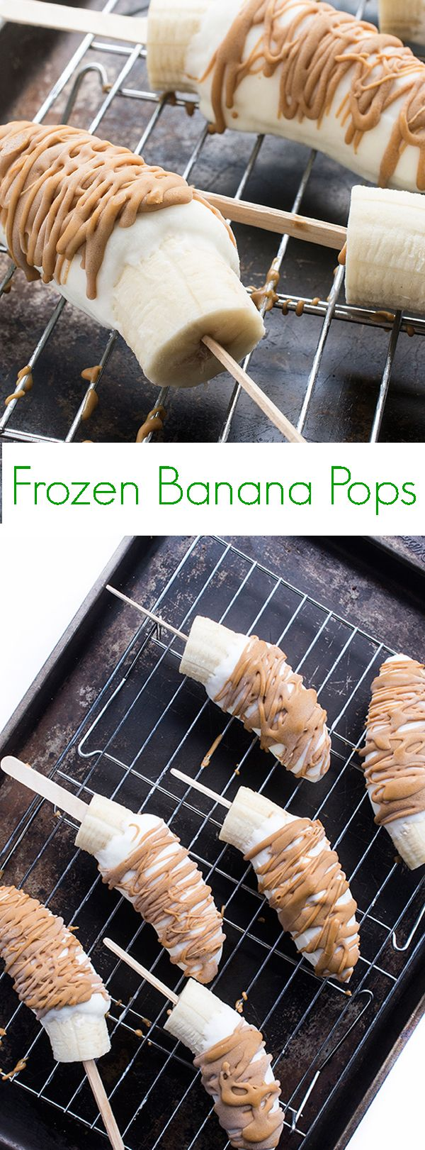 Frozen Banana Pops - A healthy and easy dessert recipe that's perfect for any occasion!
