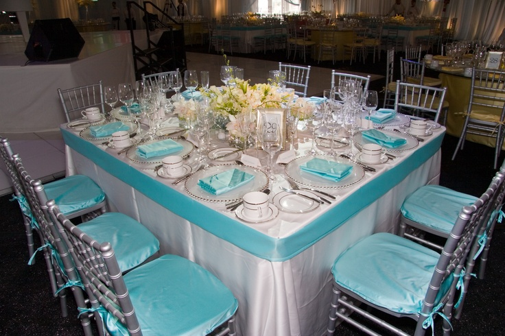 Exquisite Tiffany Blue Party